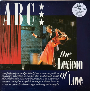 ABC ‎- The Lexicon Of Love (LP) (VG/G)